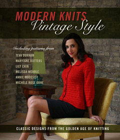 Modern knits cover