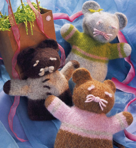Felted friends.kp