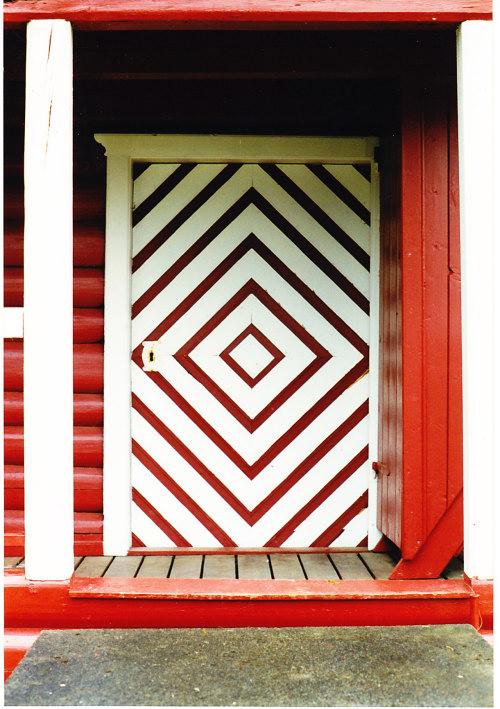 Norway red door