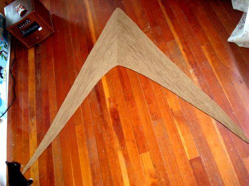 Pioneer shawl flat
