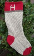 Rustic stocking 400